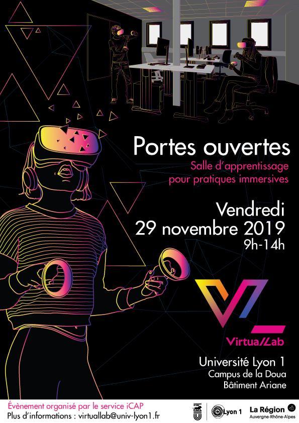 Matinée Portes Ouvertes VR le 29/11/19